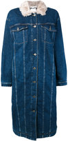 Stella McCartney long oversized denim coat