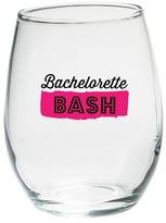 Kate Aspen Set of 4) Bachelorette Bash 15 Oz. Stemless Wine Glasses