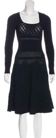 Valentino Knit A-Line Dress
