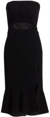 Jonathan Simkhai Cutout Bustier Dress