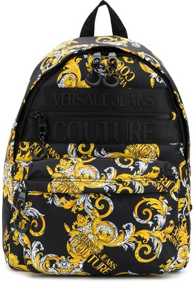 Versace Jeans Couture Barocco print backpack