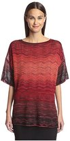 M Missoni Women's Patterned Tee