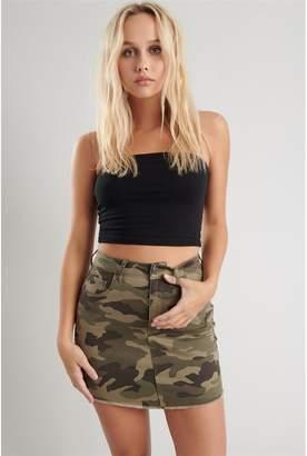 Garage High Rise Mini Skirt