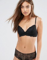 Monki Soft Lace Molded Bra
