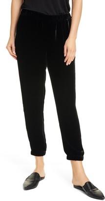 Eileen Fisher Slouchy Ankle Velvet Pants