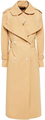 Simone Rocha Embellished Layered Gabardine Trench Coat