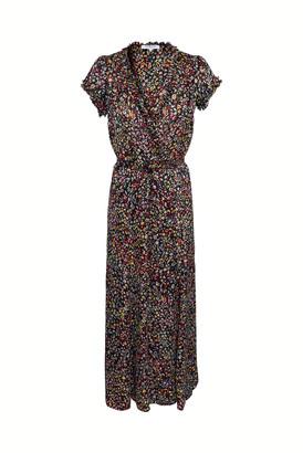 Gerard Darel Susy - Long Dress In Printed Jacquard