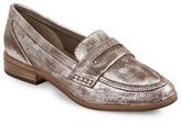 Seychelles Tigers Eye Leather Loafers