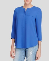 NYDJ Pintuck Back Blouse