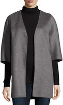 Neiman Marcus Double-Faced Cashmere Cocoon Coat