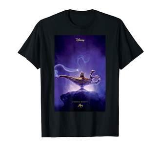 Disney Aladdin Live Action Lamp Poster T-Shirt