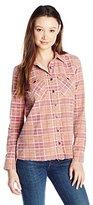 Billabong Junior's Waiting For Dawn Plaid Shirt