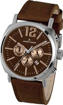 Jacques Lemans Men's 1-1645G Lugano Analog Display Quartz Brown Watch