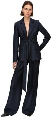Gabriela Hearst Lvr Sustainable Woven Wool Blazer