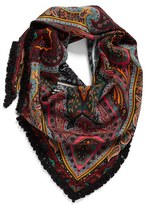 Echo Women's Paisley Silk Triangle Scarf