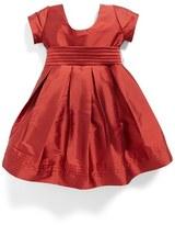 Isabel Garreton Cap Sleeve Taffeta Dress (Toddler Girls, Little Girls & Big Girls)