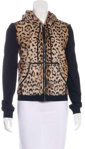 Diane von Furstenberg Elodie Shearling Jacket