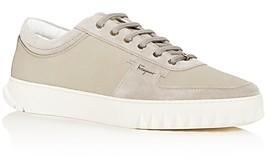 Salvatore Ferragamo Men's Scuby Low-Top Sneakers