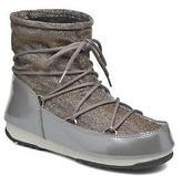 Moon Boot Women's We Low Lurex Trainers in Grey