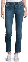 Helmut Lang Mid-Rise Skinny Jeans, Light Blue