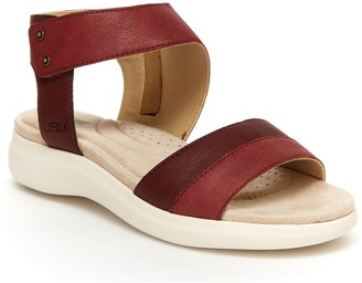 Jambu JBU by Asymetrical Ankle Strap Sandals -Doris