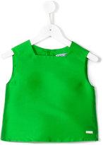Mi Mi Sol - plain tank top - kids - Silk/Polyester - 2 yrs