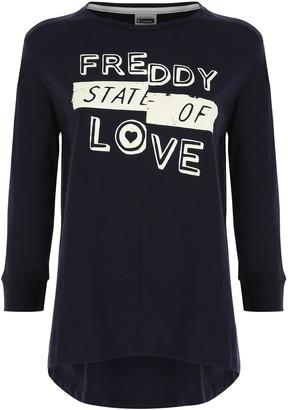 Freddy Women's F8wclt3 Long Sleeve Top
