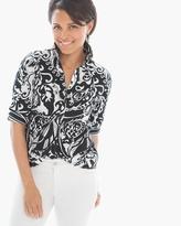 Chico's Modern Mix Gabrielle Shirt