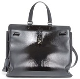 Valentino Garavani Large Pieper Leather Tote - Black