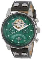 Burgmeister Limoges BM136-990 Gents Automatic Analogue Watch with Green Dial