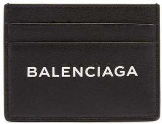 Balenciaga Logo Cardholder - Black White