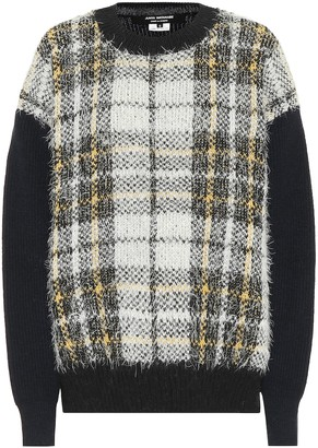 Junya Watanabe Checked wool-blend sweater