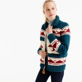 J.Crew Canadian Sweater CompanyTM bear cardigan sweater