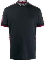 Dolce & Gabbana mock neck logo T-shirt