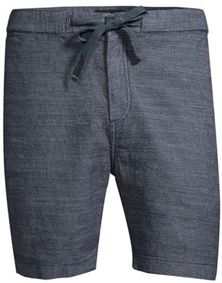John Varvatos Benson Linen-Blend Shorts
