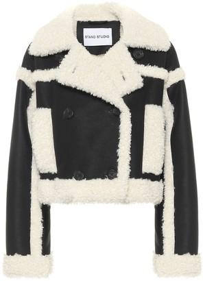 Stand Studio Kristy faux shearling jacket