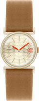 Orla Kiely OK2050 Cecilia leather and stainless steel watch
