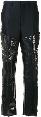 Toga Patent Panelled Trousers