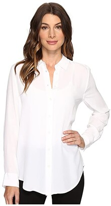 Equipment Essential Q23-E900 (Bright White) Women's Blouse