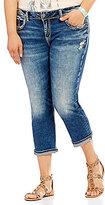 Silver Jeans Co. Plus Elyse Capri Jeans