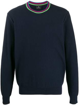 Paul Smith contrast collar knit sweater