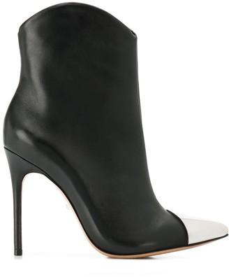 Schutz Metal-Toe Ankle Boots