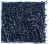 Faliero Sarti metallic thread scarf