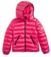 Moncler Toddler Girl's Bady Hooded Down Jacket