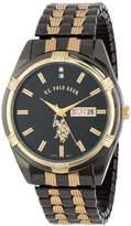 U.S. Polo Assn. Classic Men's USC80047 Two-Tone Watch -Dial Watch