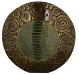 R & Y Augousti R&Y Augousti Crocodile & Bronze Vase