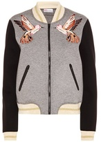 RED Valentino Embellished varsity jacket