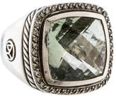 David Yurman Peridot & Diamond Ring