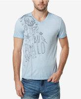 Buffalo David Bitton Men's Illustration Graphic Print T-Shirt