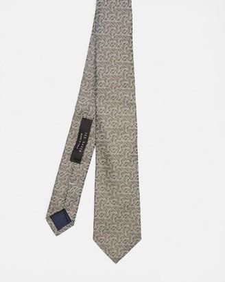 Ted Baker Geometric Print Silk Tie